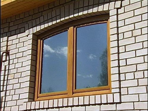 Окна из кирпича фото